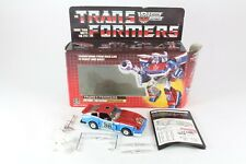 Transformers G1 Smokescreen Boxed Complete Great Condition Complete