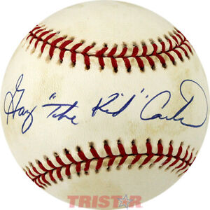Gary Carter Signed Autographed NL Baseball Inscribed The Kid PSA - Expos Mets