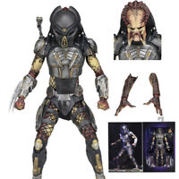 "Hot NECA Fugitive Predator Ultimate 7"" Action Figure AVP Aliens vs Predators New"