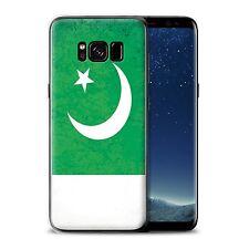 Gel/TPU Hülle für Samsung Galaxy S8 Plus/G955/Pakistan/Pakistanisch/Asien Flagge
