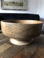 Solid Wood Dish - Fruit Bowl