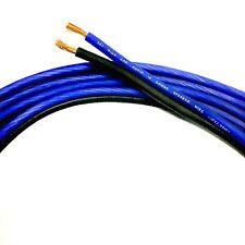 100 ft TRUE 10 Gauge BLUE/BLACK AWG Sky High Car Audio Speaker Wire Car Home