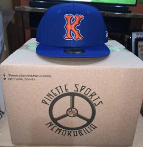 Kingsport Mets Fitted On Field New Era 5950 BP Cap Hat Size 7 1/4 New York NWT