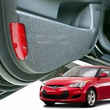 Felt Door Shield Cover Scratch Sticker Kick Protector for HYUNDAI 11-17 Veloster