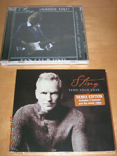 STING - THE POLICE Send your love A&M CD Remix Edition+Video + FAN CLUB (DVDr)