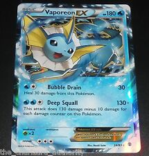 Vaporeon EX 24/83 XY Generations Ultra Rare Holo NEAR MINT Pokemon Card