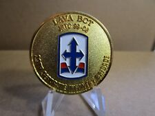 US Army Joint Readiness Trng Ctr LAVA BCT 28th Seperate Inf Bg Challenge Coin