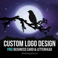 CUSTOM LOGO DESIGN: Professional Service, Business card and Letterhead FREE