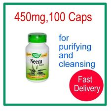 Nature's Way: Neem Leaves,purifying/ cleansing,475mg,100 CapsExp Date:31/12/2018