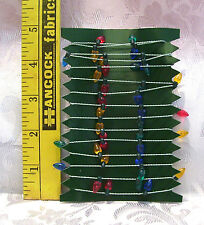 "FASHION DOLL SIZE MINIATURE CHRISTMAS TREE GARLAND 36"" #2"