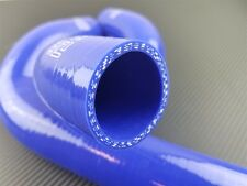 P2M 3 Ply Silicone Reinforced Radiator Hoses Kit for Mazda RX-7 13B 84-85 Blue