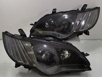 JDM Subaru Legacy BPE BP5 BL5 FACELIFT HID BLACK Headlight Light Lamp 06-07 OEM