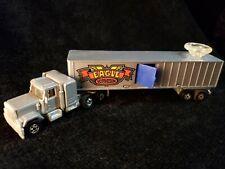 "Vintage 1980 Hot Wheels Mattel Eagle Trucking Steering Rigs Toy Semi 8"""