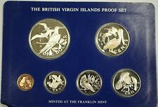 1978 Franklin Mint Virgin Islands Uncirculated Specimen Set w/ .925 Silver Coin