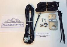 Ford F-150 Antenna Mounting Kit 2015-2018 NMO Mini-Uhf Connector CM300 CDM1250