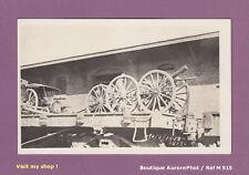 REAL PHOTO POSTCARD 1913 MEXIQUE RÉVOLUTION, TRAIN, CHARGEMENT, CANON  -M515