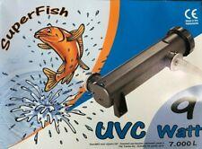 Super fish UV 9w Koi Pond / aquarium Ultra Violet Clarifier sterilizer. UVC