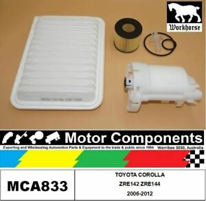 FILTER SERVICE KIT for TOYOTA COROLLA ZRE142 ZRE144 2006-2012