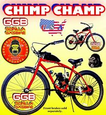 "USA SELLER NEW 2019 CHIMP CHAMP 50 80 CC GAS MOTOR & 26"" BIKE SCOOTER MOPED DIY"