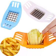 Hot French Fry Potato Chip Cutter Vegetable Fruit Slicer Chopper Chipper Blade