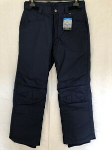 Columbia Omni-Tech Valley Point Mens Ski Snow Pants Navy Blue Size M