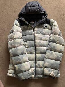 mens north face Puffer jacket medium used