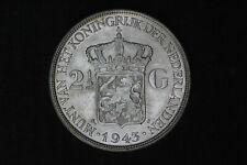 Netherlands - 2-1/2 gulden 1943 *quality* (#51)