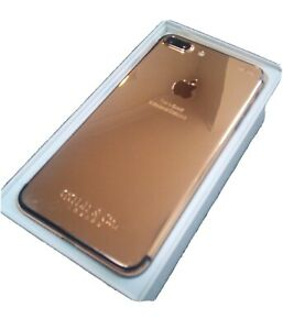 iPhone 7 Plus 24kt Rose Gold Plated x 8 microns (Unlocked) (GSM) LTE 32GB A1784