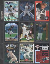 ALEX RODRIGUEZ ~ Lot of (9) Different Baseball Insert Cards w/ Sheet RARE! (A3)