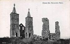 HERNE BAY KENT UK RECULVERS BACK PHOTOCHROME GRANO SERIES POSTCARD c1931