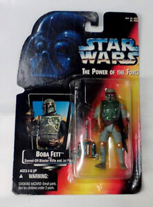 STAR WARS POWER OF THE FORCE BOBA FETT (1995) Red Card