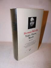 Herman Melville: Oeuvres vol. I Taipi, Omou, Mardi La Pleiade 1997 con ex libris