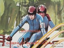 Nicaragua block185 unmounted mint / never hinged 1989 Olympics Winter Games ´92