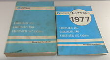 Manual de Taller Chrysler 160/180/2 Litres Ab 1974 + Suplemento Von 1977