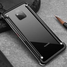 For Huawei Mate 20 Pro/P20/P40 Pro Aluminum metal bumper Slim Cover phone case