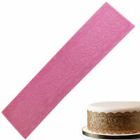 Lace Silicone Mold Fondant DIY Lace Mould Cake Bakeware 3D Decor Baking Tools