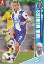 071 RAUL MEIRELES PORTUGAL FC.PORTO LIVERPOOL.FC CARD MEGACRAQUES 2010 PANINI