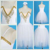 Women Girls Romantic Tutu Skirt Layers Tulle Tutu Dance Ballet Dress Dancewear
