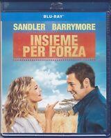 Blu-ray INSIEME PER FORZA con Adam Sandler Drew Barrymore nuovo 2014