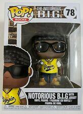 Funko Pop Rocks The Notorious B.I.G with Jersey Biggie Smalls #78