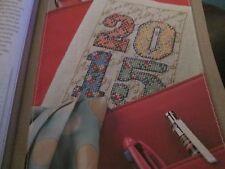 """""""DIARIO Deluxe 'Emma Congdon cross stitch chart (solo)"""