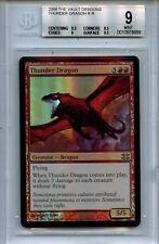 MTG Thunder Dragon BGS 9.0 (9) Mint FTV Dragons Magic Mystic Foil Amricons 8689