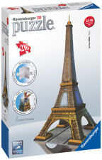 12556 RAVENSBURGER EIFFEL TOWER BUILDING 3D PUZZLE 216PC  [3D JIGSAW ]