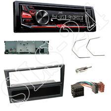 JVC KD-R471 CD/USB Radio + Suzuki Wagon R+ DIN Blende schwarz + ISO Adapter