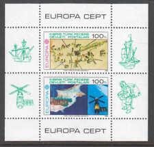 TURKEY 1983 EUROPA SOUVENIR SHEET OG NH U/M XF PRISTINE GUM $$$$$$$