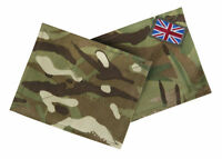 MTP BLANKING VELCRO PATCHES UBACS PCS SHIRT COMBAT SMOCK BRITISH ARMY ISSUE TRF