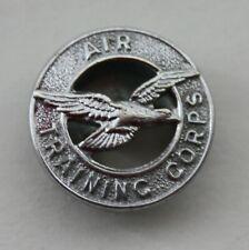 British RAF, Air Training Corps Lapel Badge. Button Hole Badge. J.R.GAUNT LONDON