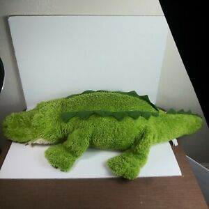 "Plush Alligator Jumbo 48"" Crocodile Polyester Green"