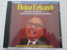 Heinz Erhardt - Noch'n Gedicht und andere Ungereimtheiten - CD West Germany