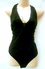 DEFINITIONS BLACK MESH DETAIL BODYSUIT SIZE 10
